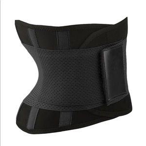 Black waist shaper belt corset size L